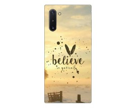 Husa Premium Upzz Print Samsung Galaxy Note 10 Model Believe