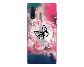 Husa Premium Upzz Print Samsung Galaxy Note 10 Model Butterfly