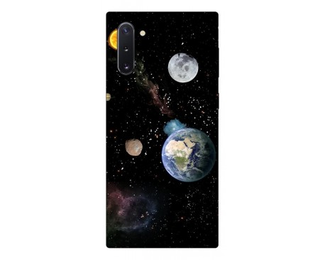 Husa Premium Upzz Print Samsung Galaxy Note 10 Model Earth