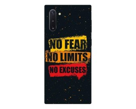 Husa Premium Upzz Print Samsung Galaxy Note 10 Model No Fear
