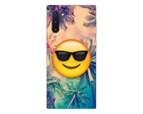 Husa Premium Upzz Print Samsung Galaxy Note 10 Model Smile