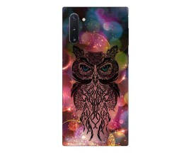 Husa Premium Upzz Print Samsung Galaxy Note 10 Model Sparkle Owl