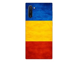Husa Premium Upzz Print Samsung Galaxy Note 10 Model Tricolor