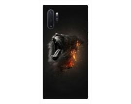 Husa Premium Upzz Print Samsung Galaxy Note 10+ Plus Model Lion