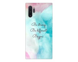 Husa Premium Upzz Print Samsung Galaxy Note 10+ Plus Model Be You