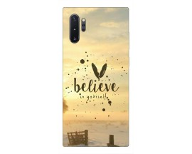 Husa Premium Upzz Print Samsung Galaxy Note 10+ Plus Model Believe