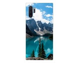 Husa Premium Upzz Print Samsung Galaxy Note 10+ Plus Model Blue