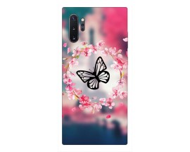 Husa Premium Upzz Print Samsung Galaxy Note 10+ Plus Model Butterfly
