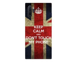 Husa Premium Upzz Print Samsung Galaxy Note 10+ Plus Model Keep Calm