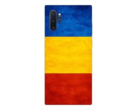 Husa Premium Upzz Print Samsung Galaxy Note 10+ Plus Model Tricolor
