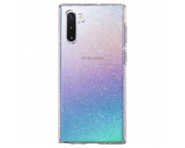 Husa Spigen Liquid Crystal Glitter Samsung Galaxy Note 10 Transparent ,silicon