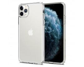 Husa Premium Spigen Liquid Crystal iPhone 11 Pro Transparenta