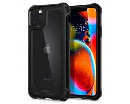 Husa Premium Originala Spigen Gauntlet iPhone 11 Pro Carbon Black
