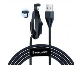 Cablu De Date Baseus Lightning 1.5A, 2M pentru gameri Negru CALXA-B01