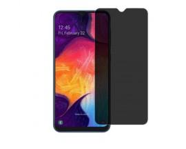 Folie Sticla Full Cover Privacy Premium Upzz Pro Glass Samsung Galaxy A40 Cu Adeziv Pe Toata Suprafata