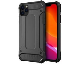 Husa Armor Upzz iPhone 11 Pro Max Anti-shock, Silicon Si Policarbonat ,Negru
