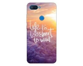 Husa Premium Upzz Print Xiaomi Mi 8 Lite Model Life