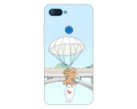 Husa Premium Upzz Print Xiaomi Mi 8 Lite Model Three Bears