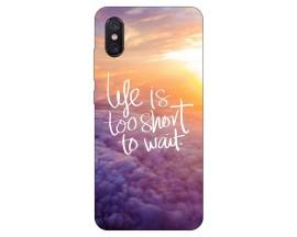 Husa Premium Upzz Print Xiaomi Mi 8 Pro Model Life