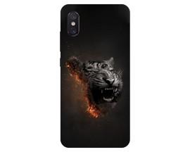 Husa Premium Upzz Print Xiaomi Mi 8 Pro Tiger