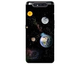 Husa Premium Upzz Print Samsung Galaxy A80 Model Earth