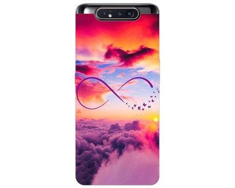 Husa Premium Upzz Print Samsung Galaxy A80 Model Infinity
