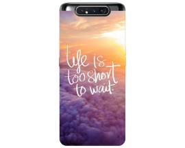 Husa Premium Upzz Print Samsung Galaxy A80 Model Life