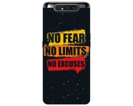 Husa Premium Upzz Print Samsung Galaxy A80 Model No fear
