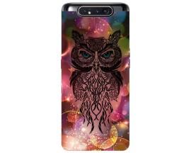 Husa Premium Upzz Print Samsung Galaxy A80 Model Sparkle Owl