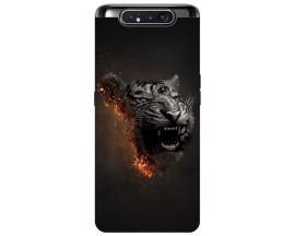 Husa Premium Upzz Print Samsung Galaxy A80 Model Tiger