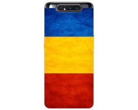 Husa Premium Upzz Print Samsung Galaxy A80 Model Tricolor
