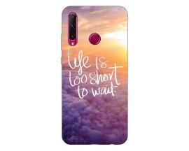 Husa Premium Upzz Print Huawei Honor 20 Lite Model Life
