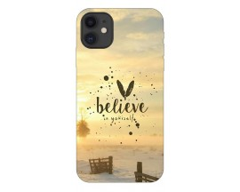Husa Premium Upzz Print iPhone 11 Model Believe