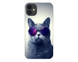 Husa Premium Upzz Print iPhone 11 Model Cool Cat
