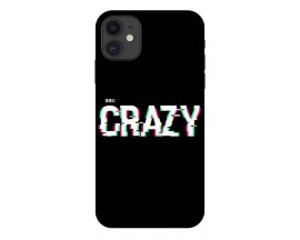 Husa Premium Upzz Print iPhone 11 Model Crazy