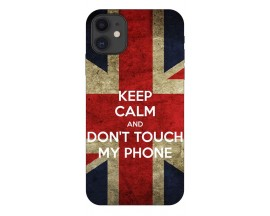 Husa Premium Upzz Print iPhone 11 Model Keep Calm