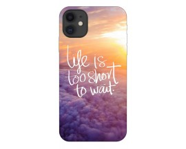 Husa Premium Upzz Print iPhone 11 Model Life