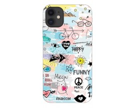 Husa Premium Upzz Print iPhone 11 Model Meow