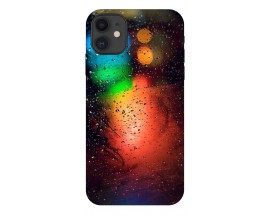 Husa Premium Upzz Print iPhone 11 Model Multicolor