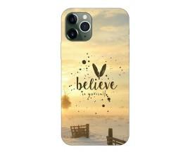 Husa Premium Upzz Print iPhone 11 Pro Model Believe