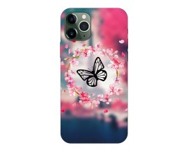 Husa Premium Upzz Print iPhone 11 Pro Model Butterfly