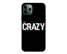 Husa Premium Upzz Print iPhone 11 Pro Model Crazy