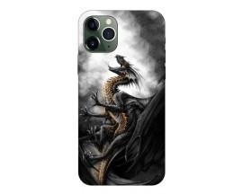 Husa Premium Upzz Print iPhone 11 Pro Model Dragon 1