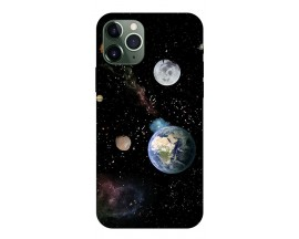 Husa Premium Upzz Print iPhone 11 Pro Model Earth