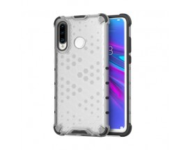 Husa Uppz Honeycomb Huawei P30 Lite ,Anti-shock, Transparent