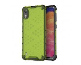 Husa Uppz Honeycomb Samsung Galaxy A10 ,Anti-shock, Verde