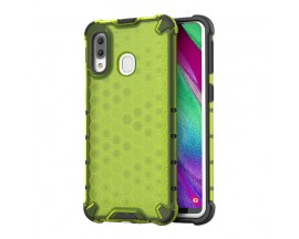 Husa Uppz Honeycomb Samsung Galaxy A40 ,Anti-shock,Verde