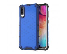 Husa Uppz Honeycomb Samsung Galaxy A50 ,Anti-shock,Albastru