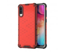 Husa Uppz Honeycomb Samsung Galaxy A50 ,Anti-shock,Rosu