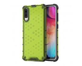 Husa Uppz Honeycomb Samsung Galaxy A70 ,Anti-shock,Verde